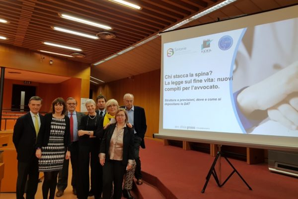 123 front - giulia facchini legge fine vita testamento biologico consenso informato - TORINO - 19 03 2018